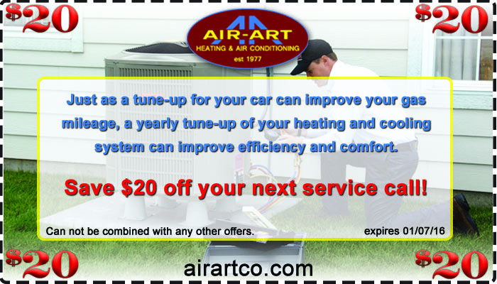 Air Art Heating & Air Coupon