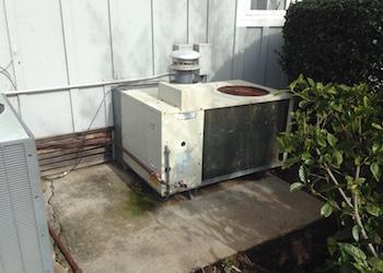 Before Air-Art Heating & Air Conditioning HVAC Service